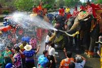 Why not travel to Thailand for Songkran Festival 2015?  - the Thai New Year ? It's a great time to visit Thailand, but prepare to get soaked