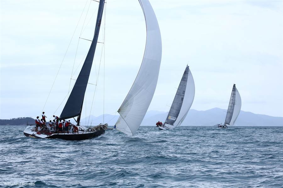 Sailing in Koh Samui - Koh Samui Sailing Regatta 2016