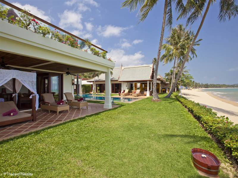 Some of the best Koh Samui beachfront villas on the different beaches around Koh Samui
