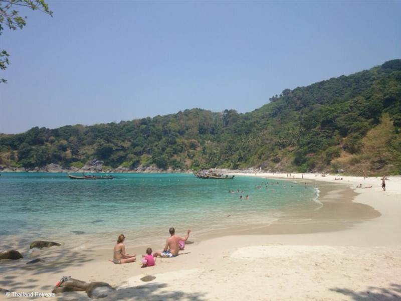 An insight into the stunning Freedom Beach near Patong on the west coast of Phuket.