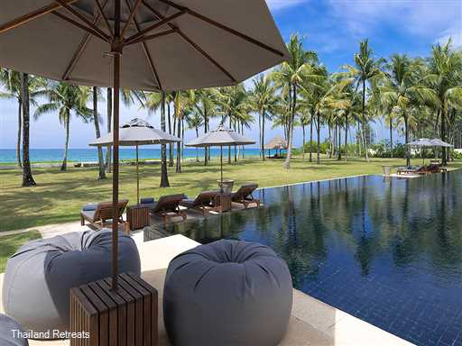 <p>Ananda is an absolute beachfront luxury villa situated on pristine Natai beach in Phang Nga offering stunning views and sunsets over the Andaman Sea.</p>