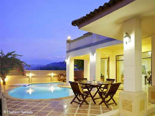 Baan Andaman is an ideal family house with private pool just out of Ao Nang centre with flexible sleeping arrangements.