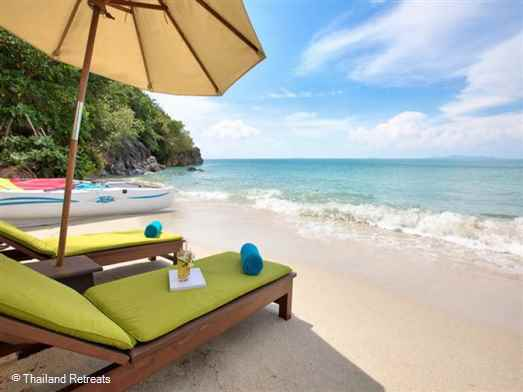 "<p>Baan Chang is a beautiful 3 -5 bedroom Koh Samui villa with Thai chef service on a sandy west coast cove. Situated at the one end of a row of 6 the villa has the largest plot with additional privacy.&nbsp; <span style=""font-size: 10pt;""><span style=""color: #000080;""><strong>R</strong></span><strong><span style=""color: #000080;"">educed nightly rates for 3 &amp; 4 bedroom occupancy only with exclusive use of the villa.</span></strong></span></p>"