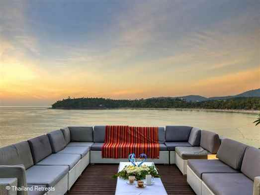 A stunning private Phuket villa in an excellent location at the southern tip of Kata beach with views over Kata Bay.  A perfect Thailand holiday villa with family and friends.