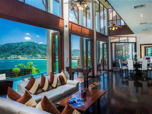 <p>Baan Paradise is a 5 bedroom all ensuite villa located just 3 minutes drive to the beach, nightlife and shopping at Patong. It has a 14m infinity pool and games room with pool table and home cinema.</p>