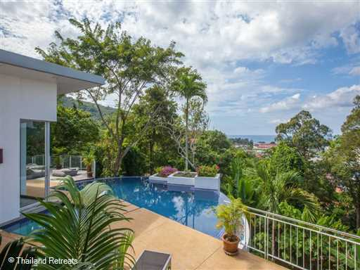 <p>Baan Sairung is one of a cluster of villas at Coolwater elevated above Kamala village and within 5-10 minutes of the west coast beaches. The villa has a half moon infinity edge pool and stunning views over the Andaman sea</p>