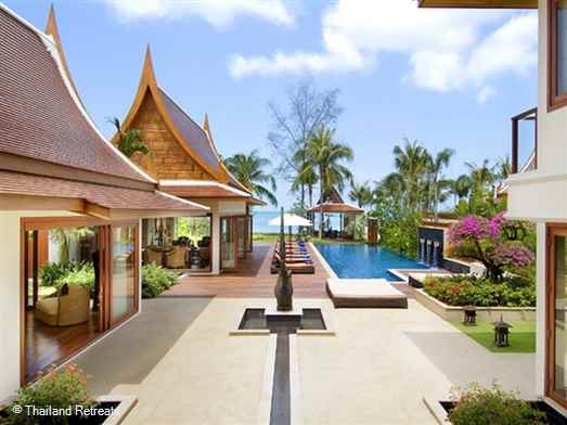 Baan Samlarn is a luxury beachfront Koh Samui villa set on Lipa Noi beach on the west coast of Koh Samui. Excellent blend of indoor and outdoor living, alfresco dining, infinity pool, outdoor Jacuzzi & shared gym. Offers rates for 5 bedroom and 2 bedroom occupancy (certain seasons).