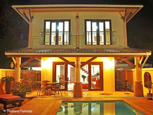 A comfortable and cosy villa with private pool withinn walking distance of the shops and restaurants of Ao Nang