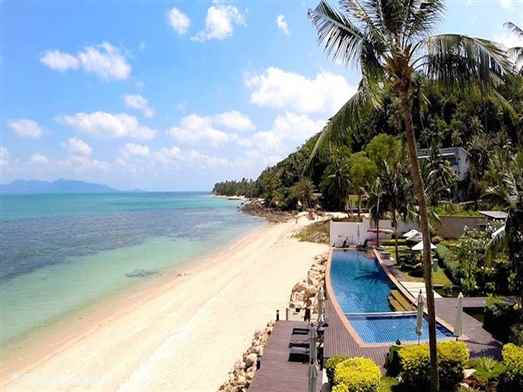 Gardenia Pool Villa is a stylish Koh Samui villa on a secure luxury development at Ban Tai beach. Private swimming pool and use of resort pool. Great views of Koh Phangan.