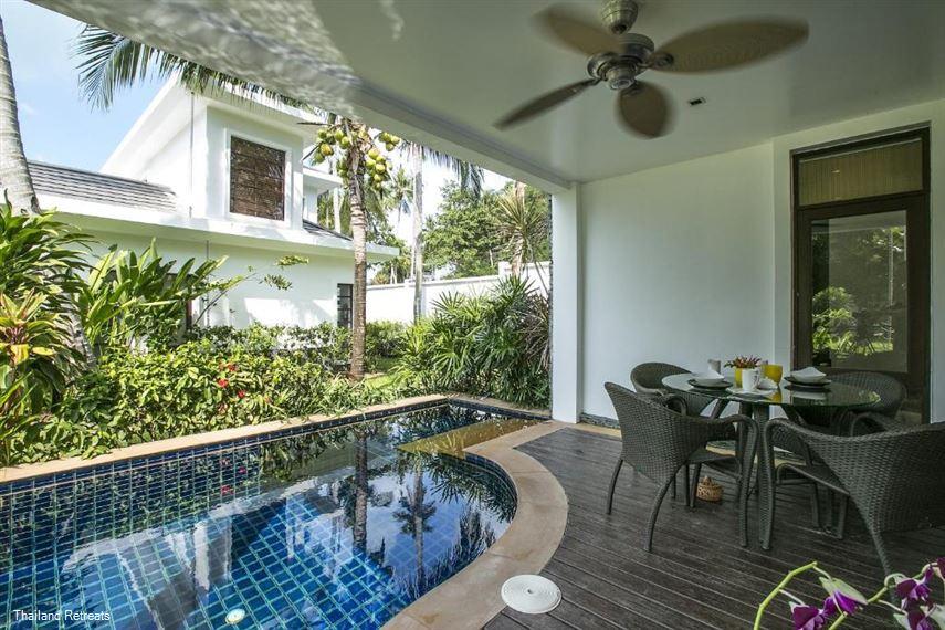 Heliconia pool Villa