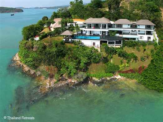 Hollywood is a stunning  Phuket holiday villa.  Spectacular views of the surrounding islands including Phi Phi. Super swimming pool and children's playroom.