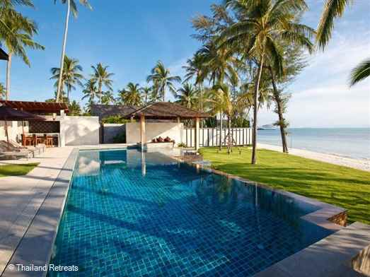 InAsia is one of our finest luxury Koh Samui Villas situated on west facing Lipa Noi beach. Ideal for extended family celebrations,weddings and groups of friends. Offers rates for 4,5,6,7 and 8 bedroom occupancy.