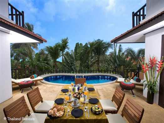 <p>Paradise Island Estate consitse of 3 x 3 bedroom villas with pools very private from each other ideal for multi family or friend groups where dining can be taken together at one villa. Additional 1 bedroom cottage and a 4 bedroom villa for extra accommodation.</p>