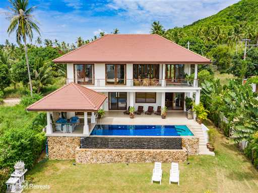 <p>Peerapat Villa is a sea view villa overlooking Big Buddha bay. Large lawned garden, infinity pool and Jacuzzi. Central location in the Big Buddha area. 5 minutes from Fishermans Village, Bophut. 10 mins from the lively town and beach of Chaweng.</p>