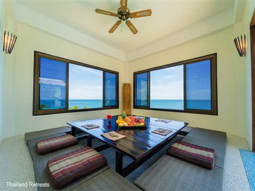 Phangan Azure is a contemporary eco friendly chill out villa with private pool located within the relatively undeveloped east coast 300 metres from the sandy Than Sadet Bay an close to the beautiful bays and village of Thong Nai Pan.