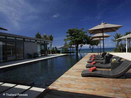 "<p>Sava-Vila Cielo is a contemporary style luxe Phuket villa situated right on the beachfront at Natai Beach in beautiful Phang Nga. Has family media room, pool table and 5 aside football pitch!. Offers rates for 4 bedroom and 6 bedroom occupancy.</p>  <p><span style=""color: #0000ff;"">Wedding Venue - Max 120 guests</span></p>"