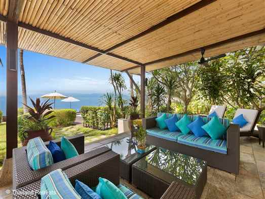 The Banyan Beach Villa is a luxury beachfront Koh Samui villa set within a small beachside resort. Sophisticated interior, views over to Koh Phangan, private 27m lap pool and 25m resort pool. Offers  rates for 2 bedroom, 3, bedroom, 4 bedroom and 5 bedroom occupancy.