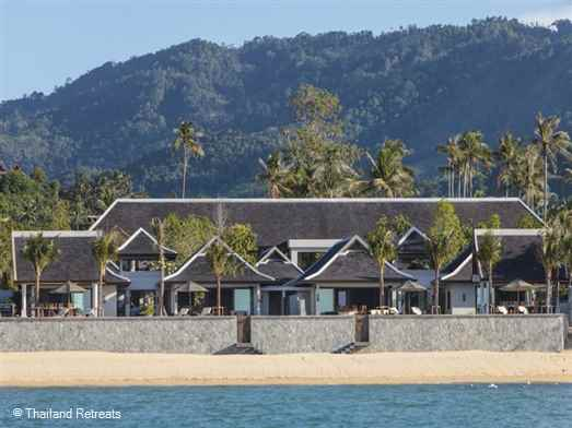 <p>The Residence comprises 2 x luxury and elegant beachfront Koh Samui villas. Private gym, conference facilities. Sleeps 28 adults/12 kids max, Ideal for large family occasions, weddings and celebrations. Offers rates for 10, 11, 12, 13 and 14 bedroom occupancy.</p>  <h3></h3>