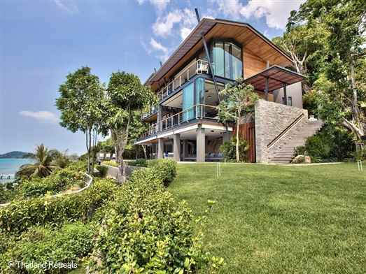 "<p>The View is a stunning Koh Samui Villa in an amazing position elevated above a sandy semi private cove in the beautiful south west. Childrens room with equipment and sea kayaks. <span style=""text-decoration: underline; font-size: 12pt;""><span style=""color: #000080; text-decoration: underline;"">Reduced rates for 3 &nbsp;or 4 bedroom occupancy with exclusive use of the villa.</span></span></p>"