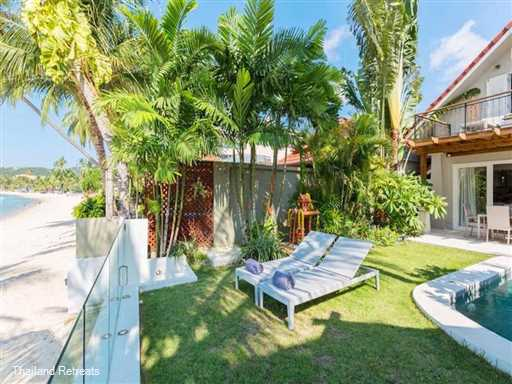 <p>Villa Charmant is a 3 bedroom gem of a villa with private pool set right on a palm fringed swimming beach within walking distance to the local village restaurants, tour shops, sports bars and convenience stores</p>