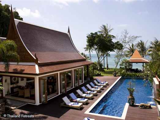"<p><span>Villa Haineu is one of 6 luxury beachfront villas located within the exclusive Dhevatara Cove on the sunset facing west coast of Koh Samui. The 3-5 bedroom villa offers spacious open relaxation spaces with high spec quality furnishings.</span>&nbsp;<span style=""font-size: 10pt;""><strong><span style=""color: #000080;"">Reduced rates for 3 or 4 bedroom occupancy only with exclusive use of the villa.</span></strong></span></p>"