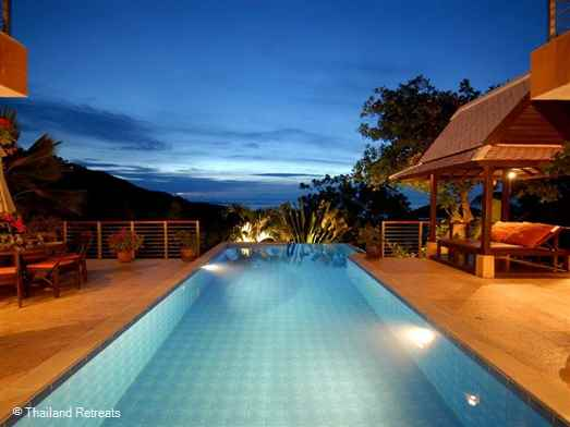 <p>Villa Nirvana is a very private west facing villa enjoying beautiful sunsets over the infinity edge pool. Located on an exclusive hillside village close to the golf course. A white sand palm fringed beach and beach restaurants a few minutes drive down the hill.</p>