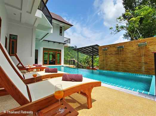 This 7 bedroom luxury villa with a combination of modern and Thai style creates harmony and practicality in a peaceful tropical setting within arm's reach of Phuket's famous attractions both north and south alike.