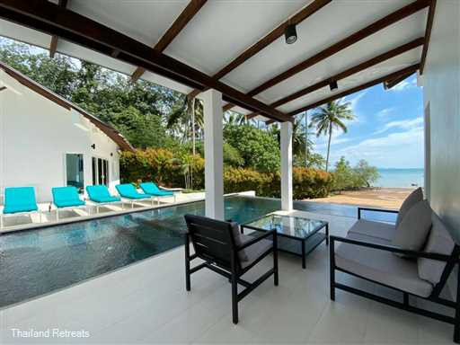 <p>Krabi Beach House with it's private swimming pool is located close to the town of Ao Nang and a perfect holiday villa to stay in whilst exploring what amazing Krabi has to offer. This waterfront villa is ideal for family gatherings or with groups of friends. A sandy beach is at the end of the lawned garden and complimentary kayaks are available for guest use.</p>