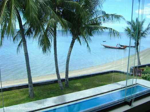 Baan Tai Villa is a beachfront villa located on west facing BaanTai beach with a private swimming pool and panoramic sea views