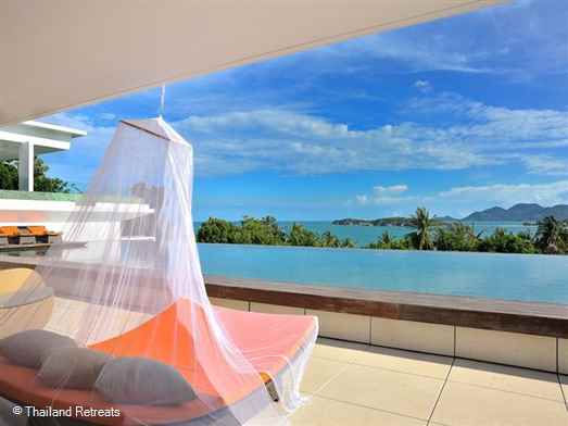 <p>Samujana Villa 12 is a spectacular villa with a wow factor and one of our finest - stunning sea views, fantastic facilities including a cinema, commercial size gym, games room and children's trampoline.</p>