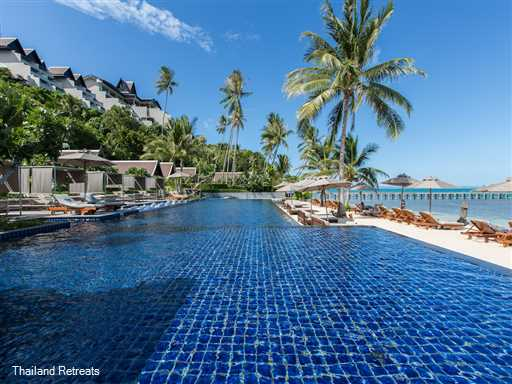 """<p>Baan Hansa is a 3-5 bedroom villa situated within the 5 star Intercontinental hotel on the exclusive south west coast of Koh Samui. Guests have use of all facilities including Spa, Fitness Centre, 7 pools. Perfect for multiple families or groups of friends. <span style=""""font-size: 10pt;""""><strong>R<span style=""""color: #000080;"""">educed nightly rates for 3 bedroom occupancy only with exclusive use of the villa.</span></strong></span></p>"""