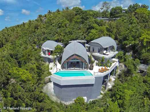 <p>Villa Moonshadow is an award winning eco-design luxury hillside villa with stunning panoramic ocean views of over Chaweng bay and the north east peninsular of Koh Samui. Close to the popular beaches of Chaweng Noi and the the town and beach of Chaweng.</p>