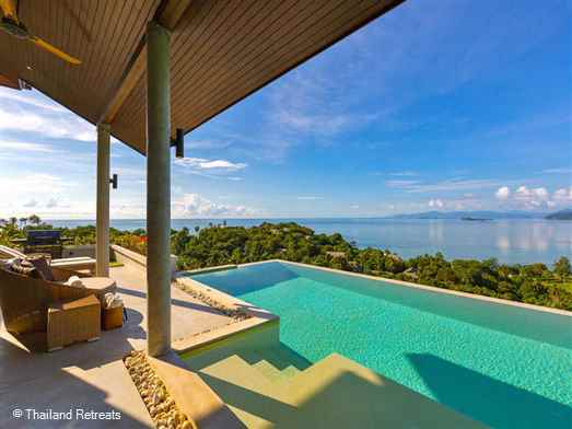 <p>Villa Camille is a 4 bedroom villa located on the quiet south coast of Koh Samui known for the natural beauty and ideal for those wishing to have a private getaway and enjoy panoramic ocean views.</p>
