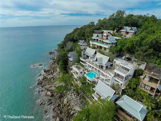 <p>Villa Nevaeh is an oceanfront Phuket villa with amazing views over the Andaman Sea. The modern contemporary interior design features six bedrooms and ideal for families, groups of friends and corporate retreats. Reduced rates for 2,4 &amp; 5 bedroom occupancy only</p>