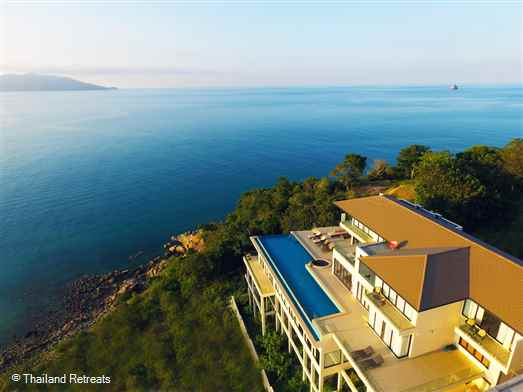 <p>Villa Tasanee is a stunning Koh Samui luxury holiday villa offering fantastic sunset views. Located in the popular north east overlooking Samrong Bay and 10-15 mins to Bophut and Chaweng the villa has a gym, snooker table and a dart board. Great for family groups and friends.</p>
