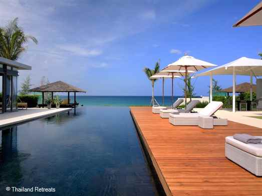 "<p>Sava - Villa Amarelo is a high end contemporary style luxury holiday villa set on the powder white sands of the 5km long Natien Beach in beautiful Phang Nga just north of Phuket. Has 25m pool, snooker table, barbecue area and is a perfect venue for a dream wedding.</p>  <p><span style=""color: #0000ff;"">Wedding Venue - max 120 guests</span></p>"