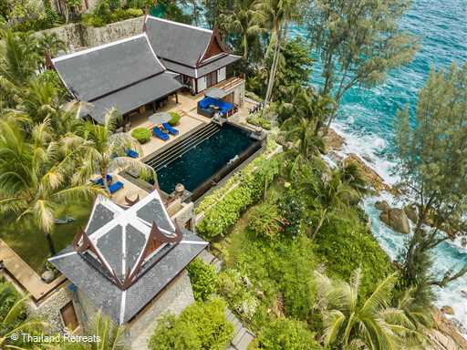<p>Laemson 1 is a stunning and spacious beachfront villa oozing elegance and luxury boasting 6 bedrooms sleeping up to 10 adults and 2 children. 5 minutes from Kamala beach and just 9.5km to the main town of Paatong.</p>