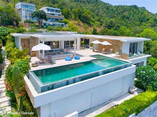 <p>Villa Turquoise 2 is a 3 bedroom contemporary design luxury Koh Samui villa in an exclusive area on the outskirts of Chaweng with panoramic ocean views and absolute seclusion.</p>