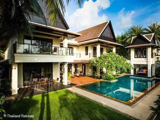 Salafa is a private luxury fully staffed sea view Phuket villa set in a beautiful location just 100m from beautiful Layan beach providing spacious accommodation for 12+ persons.