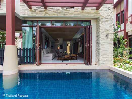 Amatapura beach Villa 10 is located on a quiet beach side development and offers stunning ocean views This spacious Krabi holiday villa is just 10 minutes from Ao Nang beach and town and the hub for Krabi island hopping trips. An ideal getaway for family and friends