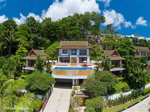 <p>Baan Bon Khao is a 4 bedroom all ensuite luxury Phuket villa located on an exclusive estate just a few minutes from Surin beach on the west coast of Phuket. Private chef and standby minivan and driver for guest transport</p>
