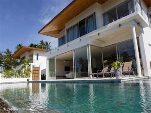 <p>Coral Cay - Villa Lilly is one of a small group of recently built villas set on a tropical hillside on the beautiful north west coast of Koh Samui. The villa has an open plan living area and 14m swimming pool and all 6 bedrooms have en suite bathrooms. Access t tenns court and childrens play area</p>