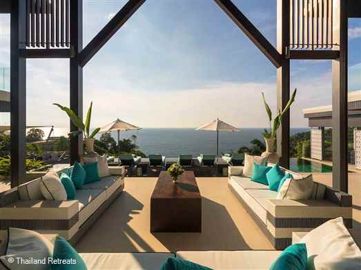 "<p>Villa Samira is a stylish luxury 6 bedroom villa Phuket holiday villa with amazing ocean views. Perfect for entertaining with facilities including a media room and games room with pool table and custom made spa room. Offers rate for 6 and 4 bedroom occupancy.</p>  <p><span style=""color: #0000ff;"">Wedding Venue - Max 40 guests seated - 80 guests standing</span></p>"