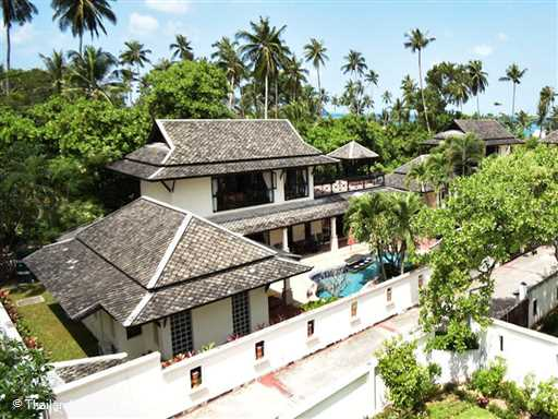 <p><span>Banyan Villa 2 is a 3 bedroom villa with private swimming pool located on a small beachside development on beautiful palm fringed Bang Por beach. The resort also has a super large beachfront shared pool with kiddies area/jacuzzi</span></p>