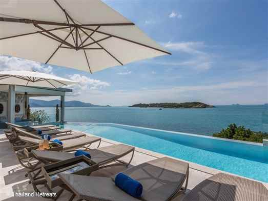 <p>YO Villa is a stunning contemporary design villa located above a semi-private beach in the popular north east of Koh Samui. Stunning views, private infinity pool, fitness gym and a cinema room all add up to an amazing Koh Samui holiday villa.</p>