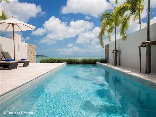 <p>Villa Neung at Sky Beach Villas is a 2 bedroom minimalistic contemporary design beachfront villa with swimming pool.&nbsp; One&nbsp;of 4 similar villas located on the peaceful beach of Plai Laem in the popular north east of Koh Samui the villa has stunning views and easy access to many of the tourist hotspots and restaurants.</p>