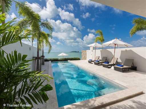 <p>Villa Song is a contemorary design luxury 2 bedroom beachfront holiday villa located on a quiet beach in the popular north east of Koh Samui. Features a home theatre with an extensive archive of movies.&nbsp;</p>