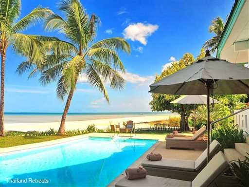 <p>Baan Rim Haad is a 3 bedroom beachfront villa with a private beach facing pool located withing a secure beachside resort on the quieter south coast of Koh Samui. The resort offers a number of activiies and an adjacent beachclub&nbsp;&nbsp;</p>