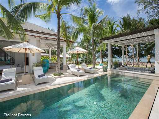 "<p>Mia Palm Villa is a luxury 3 - 5 bedroom beachfront villa located on the shores of Chaweng bay&nbsp;Koh Samui within walking distance to restaurants, entertainment &amp; shops. <span style=""color: #000080;"">Offers reduced rates for 3 &amp; 4 bedoom occupancy with use of the whole villa</span></p>"
