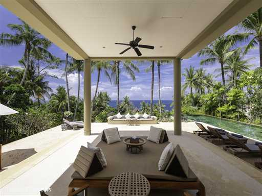 <p>Villa Praison is a luxury 5 bedroom luxury Phuket and includes an 8 bed bunk room. The villa is located within a private estate on the north west coast of Phuket and just 350m from the beach. Open-concept living areas, large pool terrace and 12m swimming pool.</p>